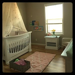 Canopy for girls room